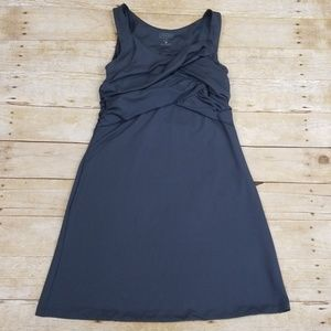 Athleta Ruched Top Athletic Dress With Bra